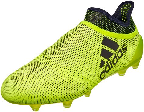 adidas x 17 purechaos fg soccer cleats solar yellow legend ink soccer master