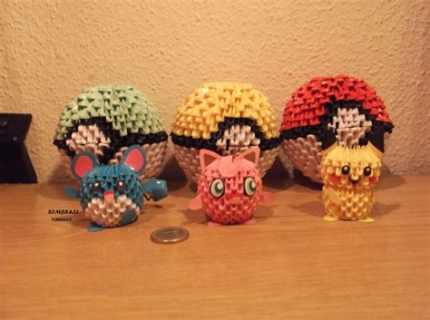 Origami Jigglypuff - by sombra33 on deviantart