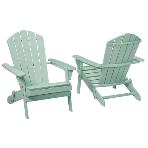 Adirondack Chair by Realcomfort Periwinkle Plastic Outdoor Adirondack Chair