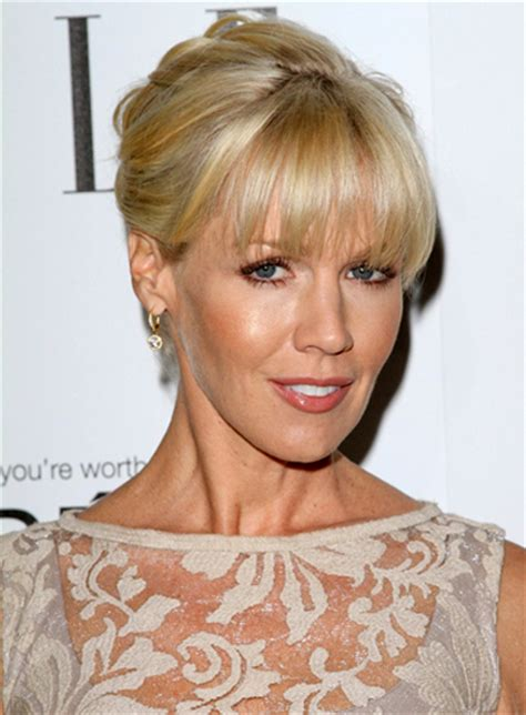 updos with bangs riot