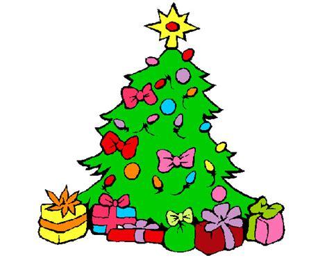 dibujo de arbol de navidad d pintado por crislove en
