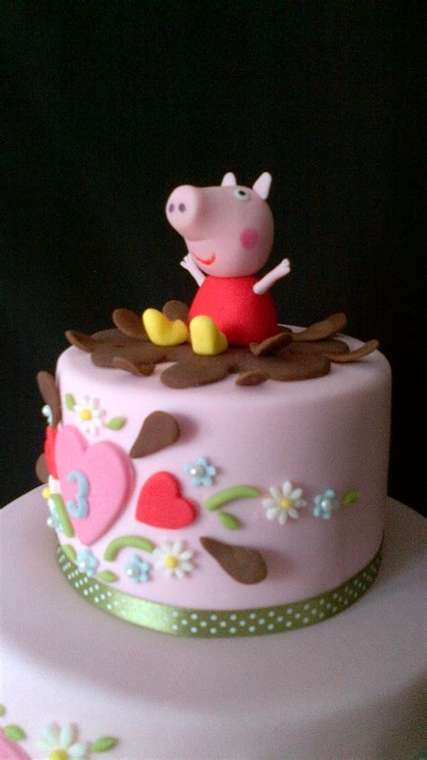 peppa pig peppa pig cake   colleagues lovely