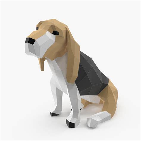 paper a puppy paper obj