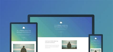 responsive layout template free download free responsive html css templates for mobile friendly