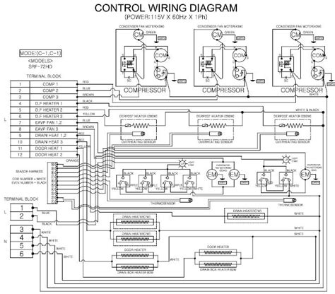 wiring diagram dometic air conditioner coleman rv air