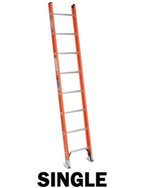single section ladder fiberglass single section ladders bird ladder