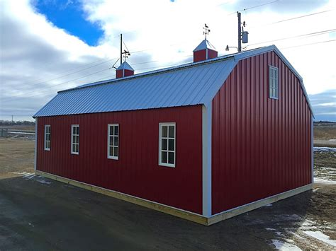 gambrel roof barn horse shelters barn 20x32 gambrel roof barn