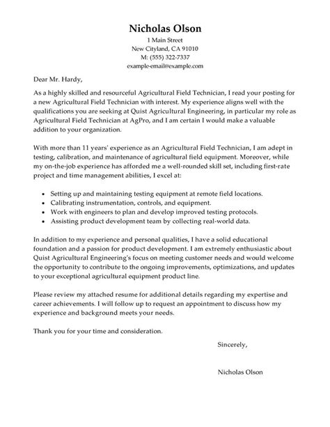 field service technician cover letter field technician cover letter