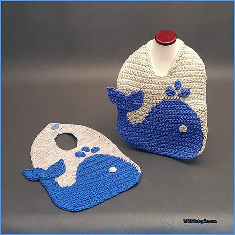 whale pattern clothes the blue whale baby bib free crochet baby pattern free