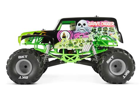 grave digger toy monster truck axial yeti xl 1 8 4wd electric monster buggy kit