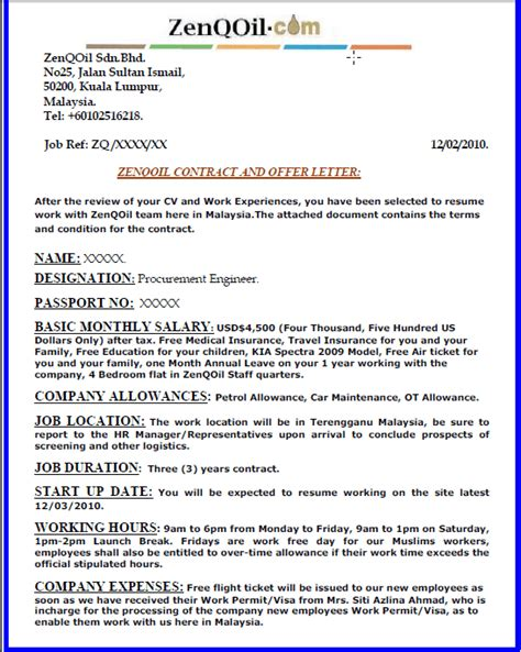 Job Resume Sample Malaysia by Zenqoil Zenqoil A Fake Company