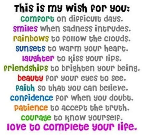 What I Wish For You quotes my wish for you quotesgram