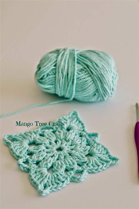 Free Crochet Patterns Free Crochet Square Motif crochet square pattern crafting corner