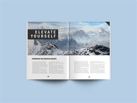 free magazine psd mockup template averta blog