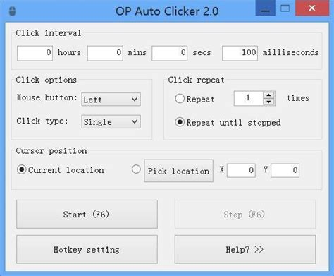 Speed Auto Clicker Chip autoclicker sourceforge net