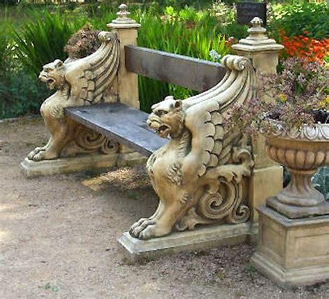 gothic garden bench 10 images about gargoyle tattoo on pinterest gardens