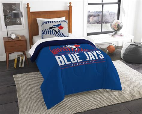 mlb toronto blue jays twin comforter set buy at team