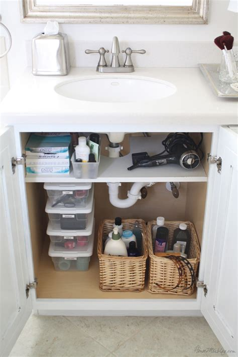 bathroom sink organizer ideas bathroom organization tips the idea room