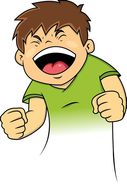 free clipart laughing boy laughing lol 183 free vector graphic on pixabay