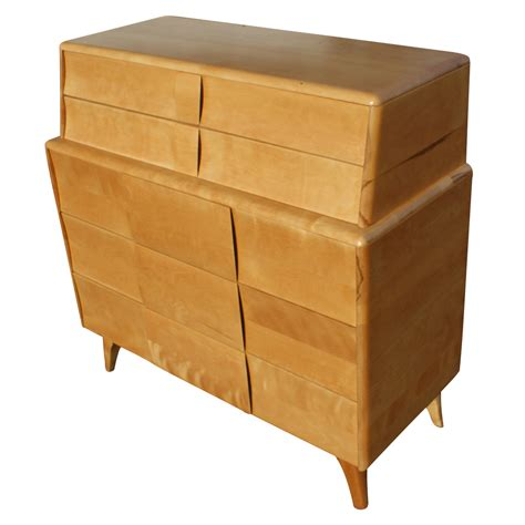 Wakefield Dresser by Heywood Wakefield Kohinoor 3 Drawer Dresser Deck Top Ebay