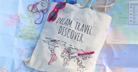 Oceanseven Cotton Bag World Traveler 9 cotton bag colour your world
