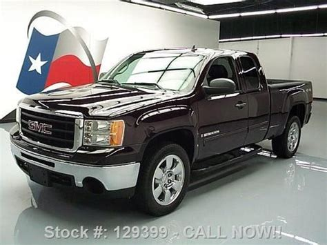 how can i learn about cars 2009 gmc savana 3500 lane departure warning buy used 2009 gmc sierra ext cab 4x4 6 pass side steps 20 s 36k texas direct auto in stafford
