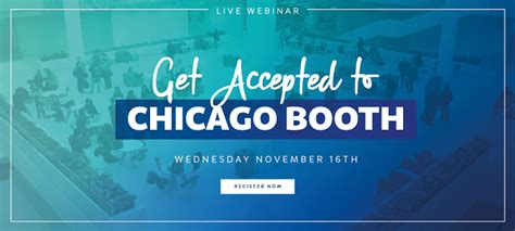Booth Mba Chat by Seats Filling Up At The Chicago Booth Webinar The Gmat Club