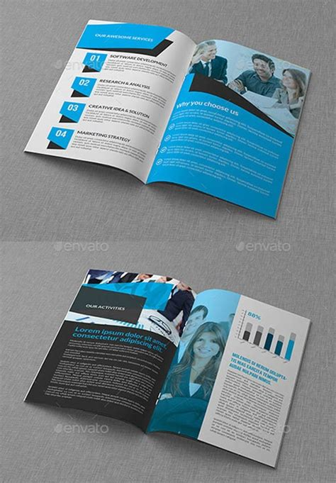 30 inspiring psd indesign brochure templates