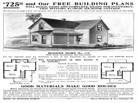 Early 1900s House Plans Sears Home Catalog 1930s Sears Catalog Homes Early 1900 House Plans Mexzhouse