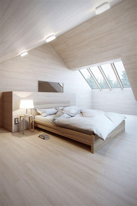 natural wood bedroom interior design ideas