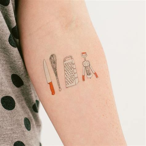 every kind of kitchen tattoo tattoos of the day