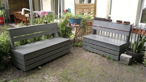 build  garden storage bench diy projects