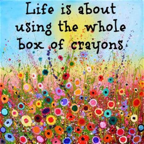quotes on colours and happiness quotes about crayons quotesgram