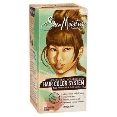 ammonia free hair color sheamoisture moisture rich ammonia free hair color system