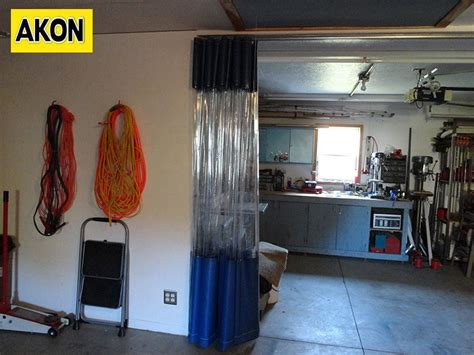 garage curtain walls garage divider curtains akon curtain and dividers