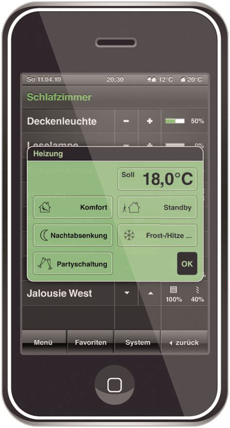 Gira Home Automation Apps For Gira Homeserve App For The Iphone Ipod Touch And