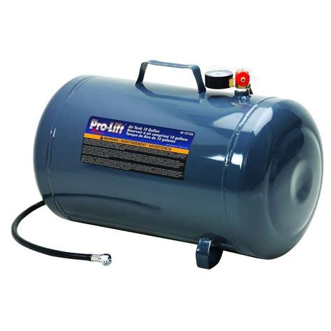 pro lift 10 gal air tank w 1010a the home depot