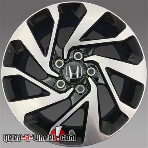 Honda Oem Wheels by 16x7 Quot Honda Civic Oem Wheels 2016 2017 Machined Rims 64095