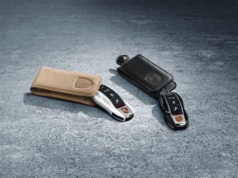 porsche pouch 97004400041 porsche tequipment key pouch in leather black