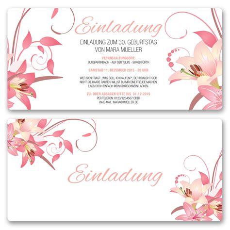 Einladungskarten Hochzeit Blumen by Einladungskarten Mit Zeitlosem Design Bestellen
