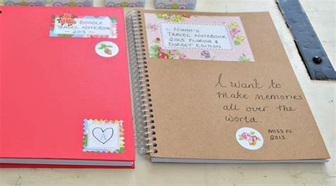 Note Book Decoration by Me And The Big World One One World One Chance