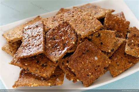 whole grains crackers whole grain 5 seed crackers recipe