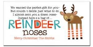reindeer noses poem amp reindeer feed free printable gift ideas