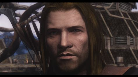 skyrim nexus better males mod dce realistic male face at skyrim nexus mods and community