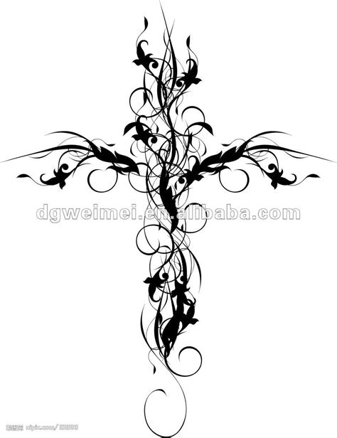 flower and cross tattoos 15 pretty flower cross designs images cross with flowers