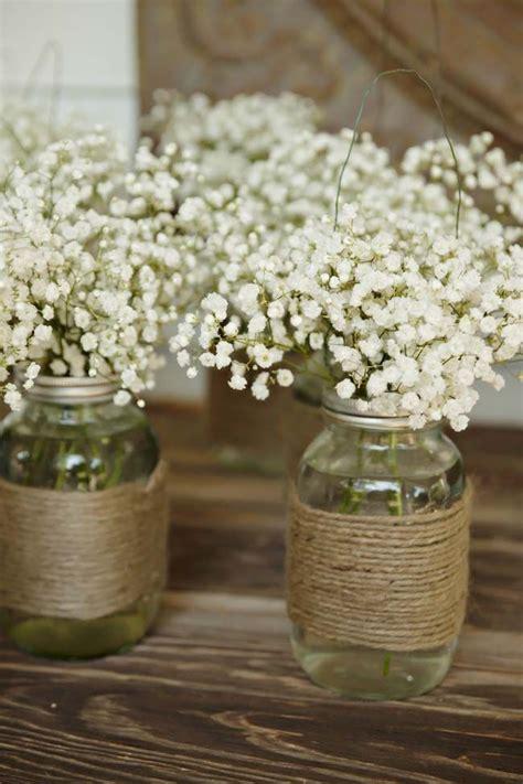 table centerpieces with jars 25 best ideas about rustic flower arrangements on