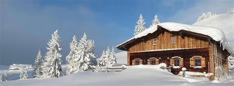 Hüttenurlaub Winter by Mountain Lodge In Lofer At The Hallensteinerkasa