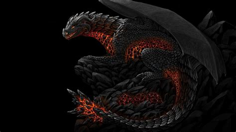 dark dragon wallpaper widescreen black dragon wallpapers wallpaper cave