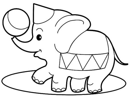 circus elephants coloring pages circus elephant coloring pages for kids best place to color