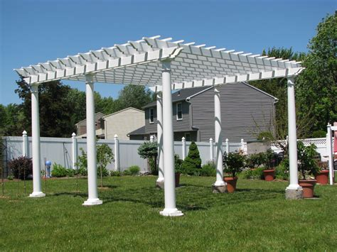vinyl pergola design pergola photos custom pergola vinyl wood garbrella garden shade and more
